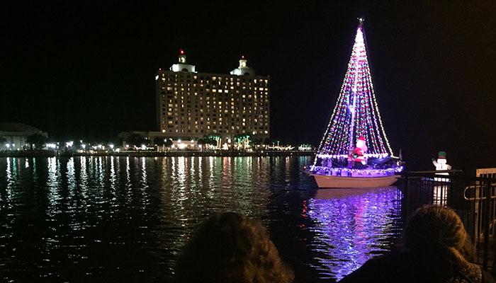 Boat Parade of Lights A Christmas parade, Savannah style! Over