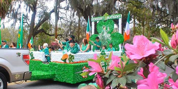Savannah Georgia St Patricks Day Parade