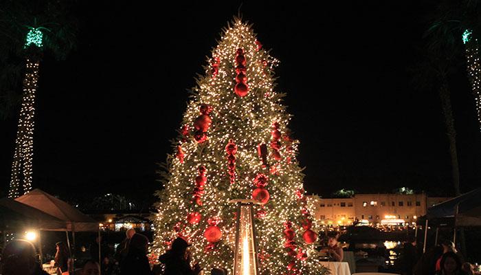 Savannah Holiday Harbor Series Christmas Tree at The Westin