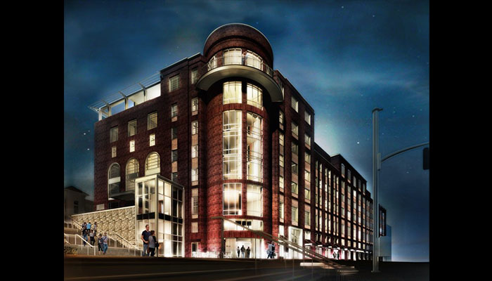 Savannah Hotel at 412 Williamson Rendering