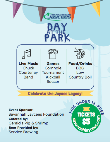 Savannah Jaycees Park Day information