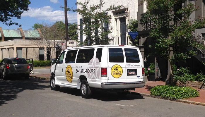 Savannah Military Tour Van