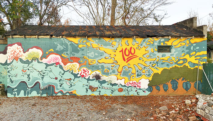 Savannah Mural Miracle on 34th Street