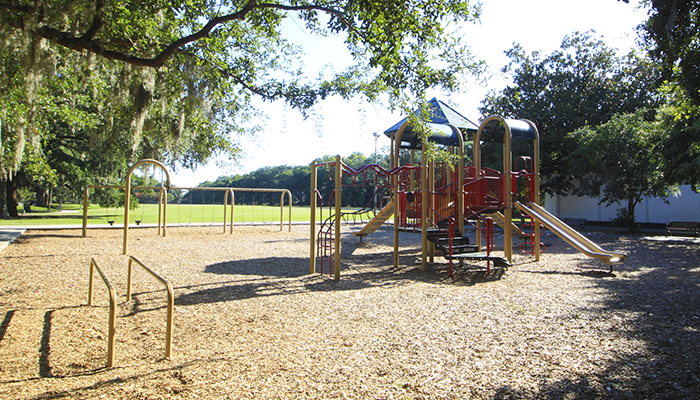 Savannah Playground in Forsyth Park