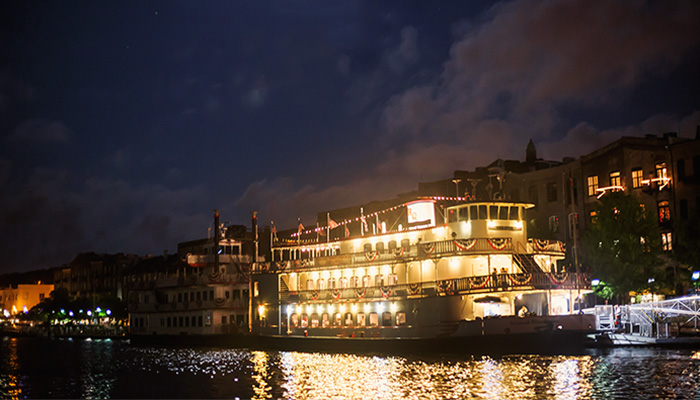 Savannah Riverboat Cruises Evening