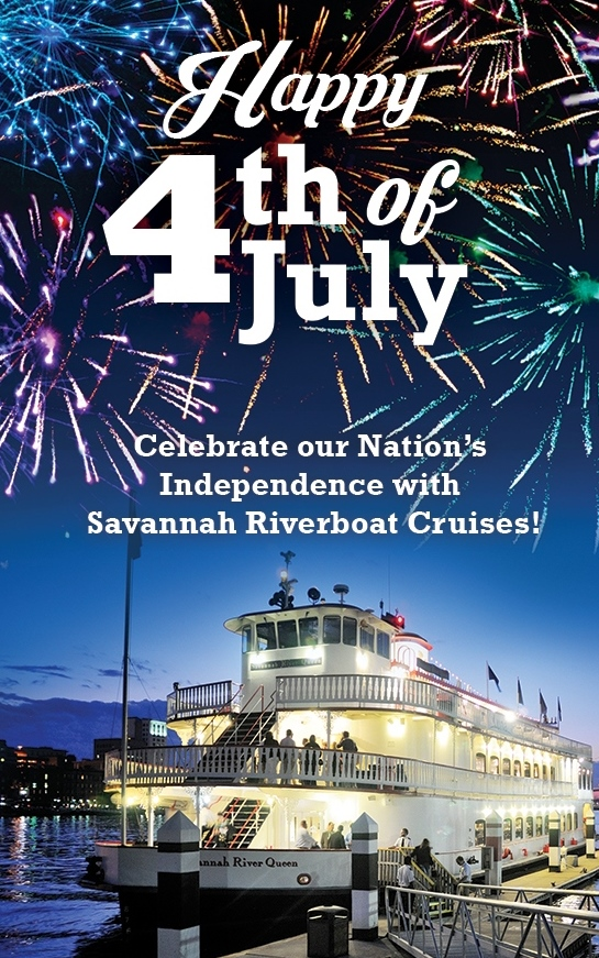 Savannah Riverboat Fourth of July