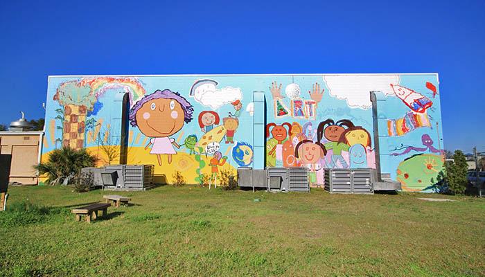 Savannah West Broad Street YMCA Mural in Savannah