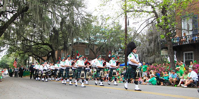 Savannah's St Patricks Day Parade