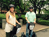 Segway Adventure Tours in Motion