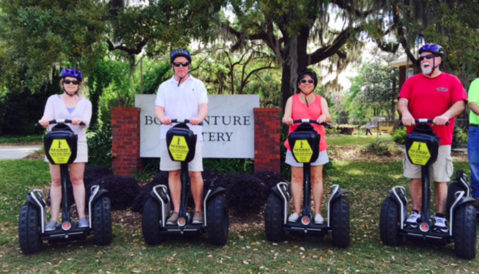Segway of Savannah Tour