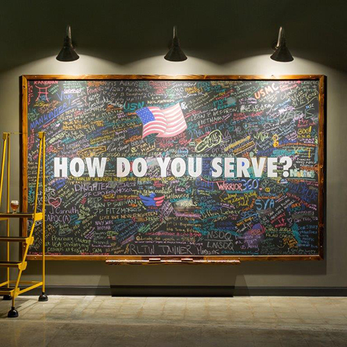 Service Brewing How Do You Serve board