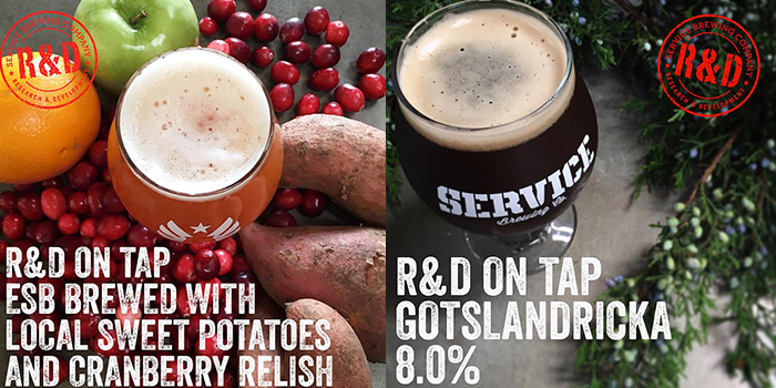 Service Brewing R&D Series ESB and Gotslandricka