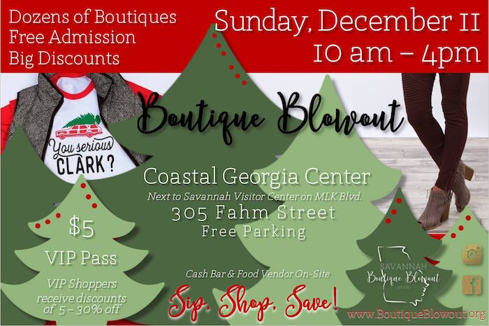 Sip, Shop & Save at Coastal Gerogia Center 2016