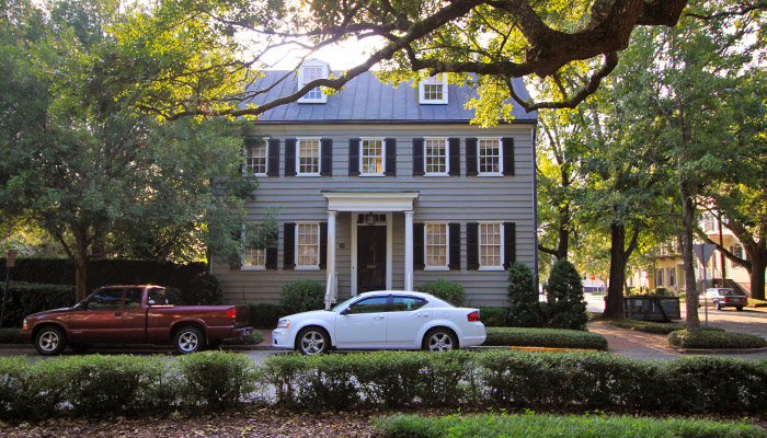Spencer-Woodbridge House on Warren Square
