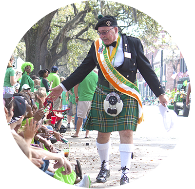 Savannah St Patricks Day Parade