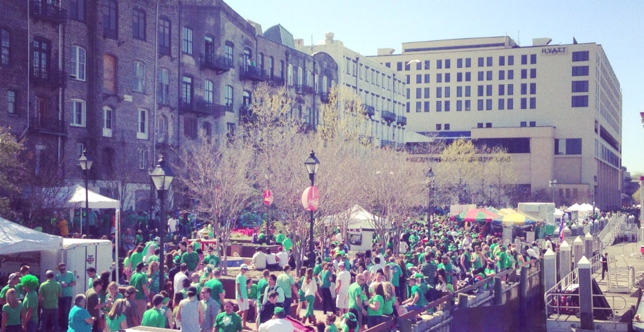 St Pattys on River Street