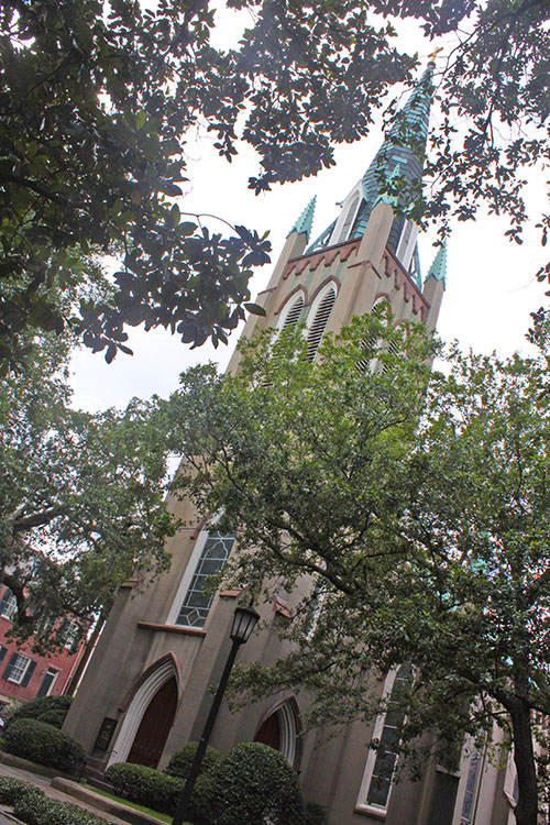 St. John's Episcopal Church in Savannah