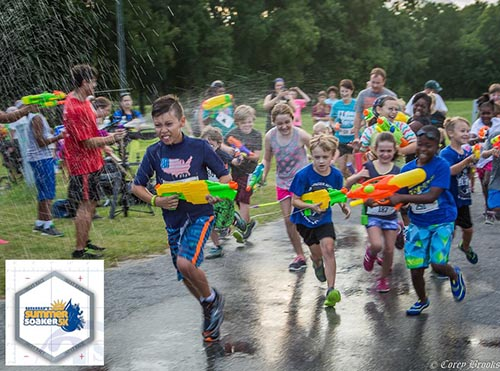 Summer Soaker 5k Walk:Run in Savannah