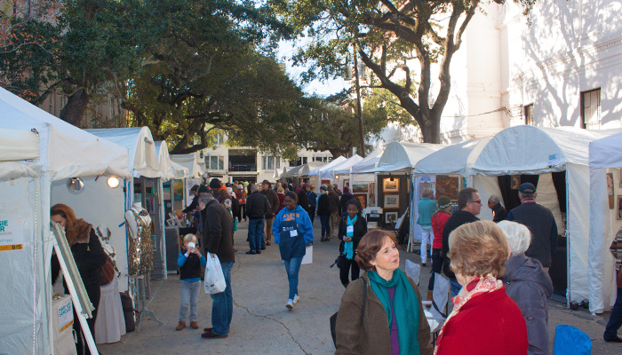 Telfair Art Fair in Savannah