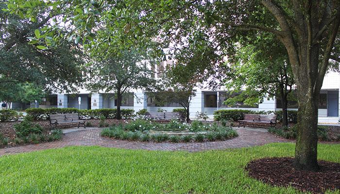 Telfair Square in Savannah