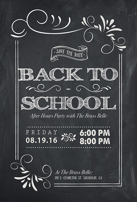 The Brass Belle Back to School After Hours Party