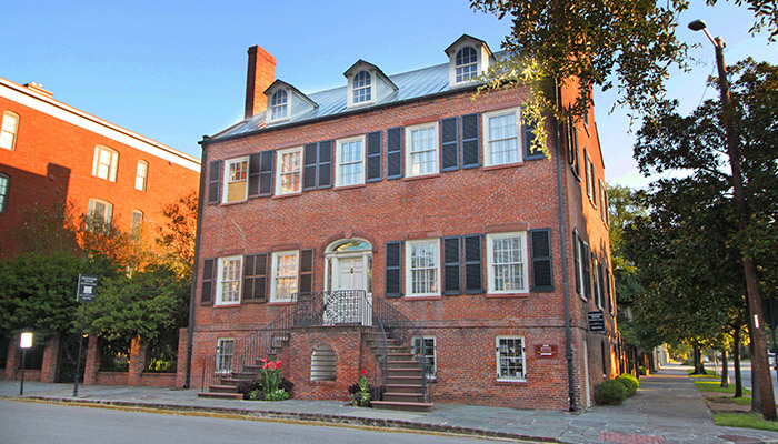The Davenport House in Savannah Georgia