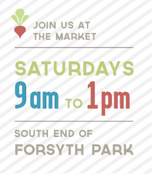 The Forsyth Farmers' Market in Savannah GA