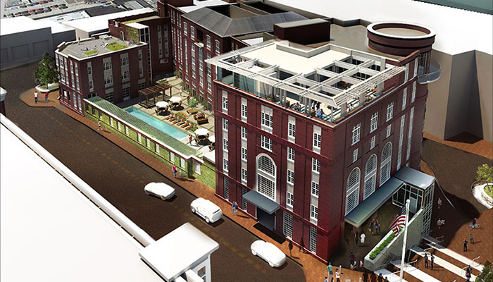 The Hotel at 412 Williamson in Savannah Rendering