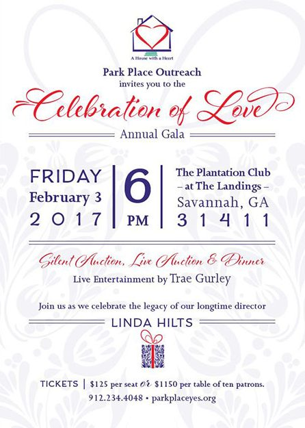 The Park Place Outreach Youth Emergency Shelter's 2017 Celebration of Love
