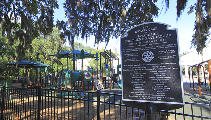 The Rotary Club of Savannah Children's Playground