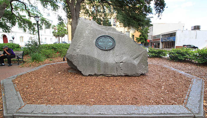Tomochichi Grave Wright Square