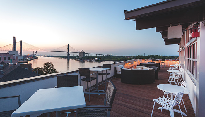 Top Deck Rooftop Restaurant
