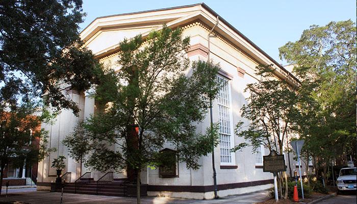 Trinity Methodist Church on Telfair Square