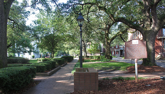 Troup Square in Savannah