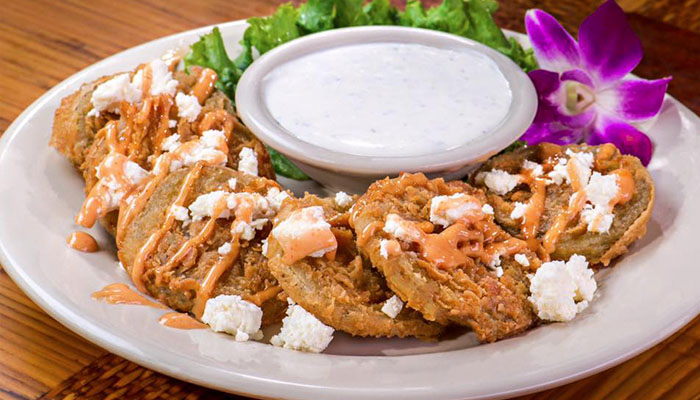 1. Fried Green Tomatoes