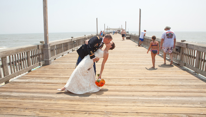15 unique wedding venues in savannah savannah ga for Tybee island fishing pier