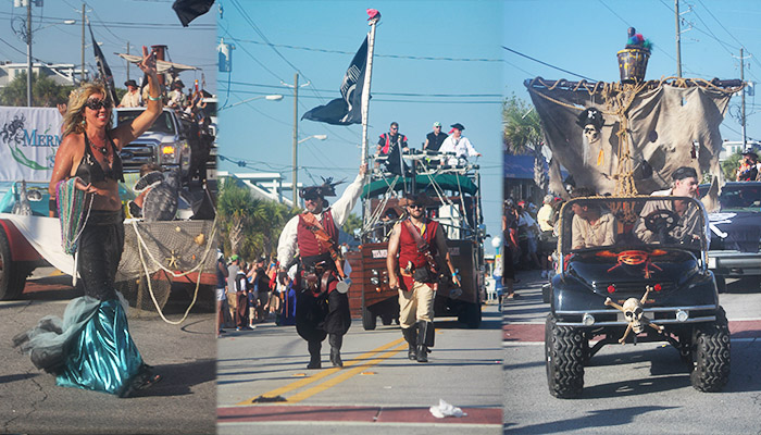 Tybee Island Pirate Fest Parade