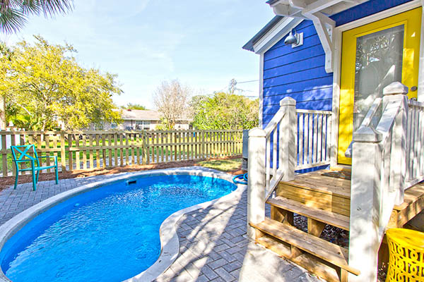 Tybee Vacation Rental Blue Crab Cottage