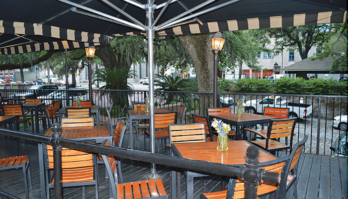 Vic's Outdoor Dining in Savannah