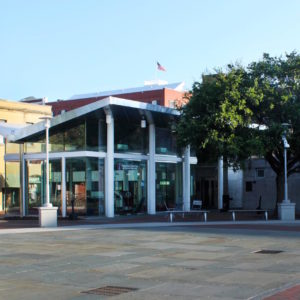 Visitor Center in Ellis Square