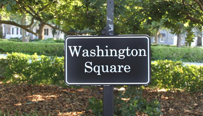 Washington Square sign