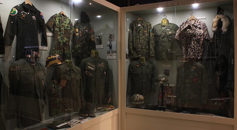 Webb Military Museum Vietnam War Uniforms