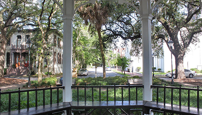 Whitefield Square in Savannah