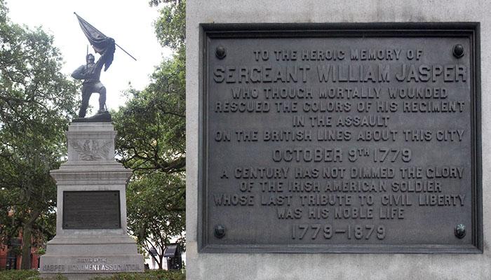 William Jasper Statue in Madison Square