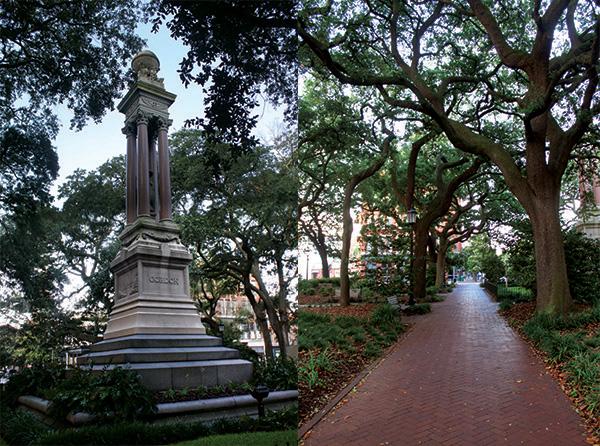 Wright Square in Savannah GA