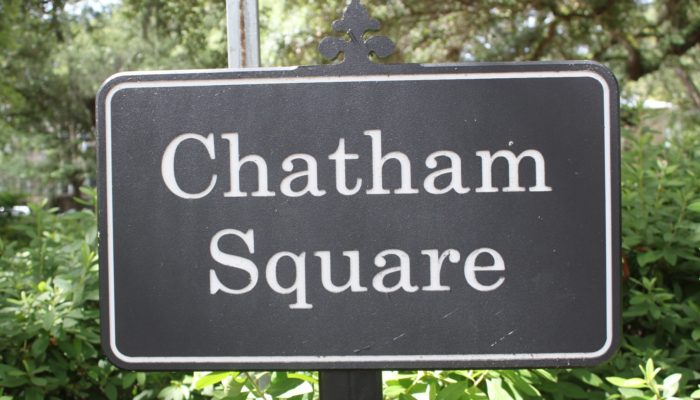 Chatham Square Sign