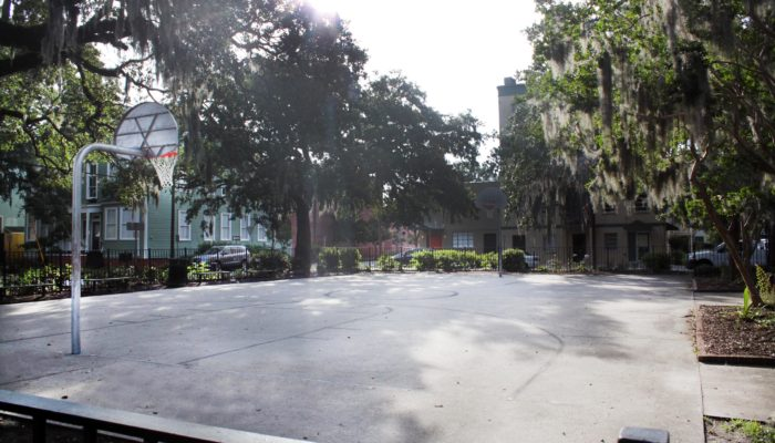 Crawford Square Basketball Court