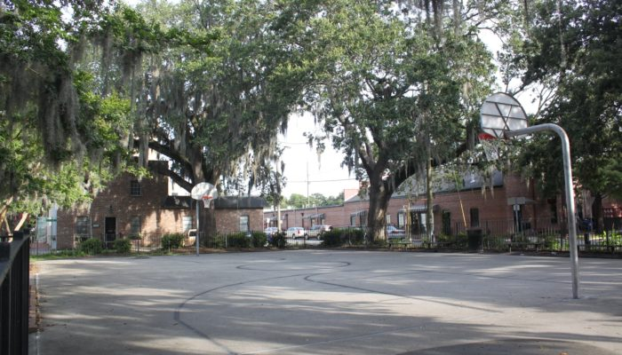 Crawford Square Basketball Court in Savannah