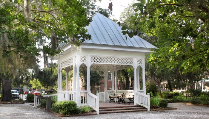Gazebo in Crawford Square