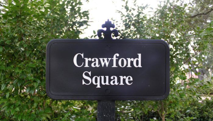 Crawford Square Sign